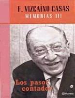 Descargar LOS PASOS CONTADOS  MEMORIAS III