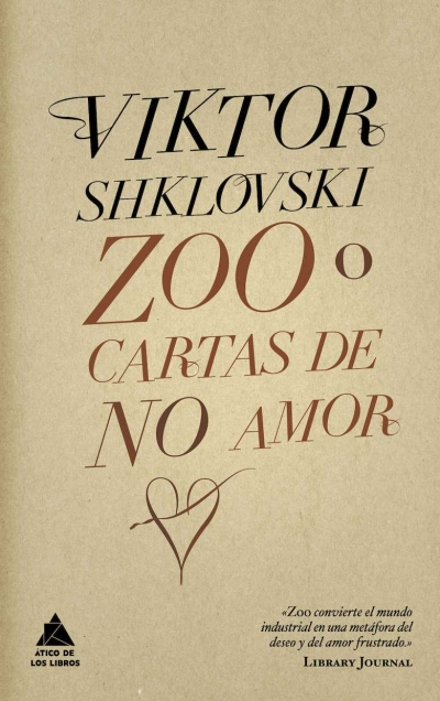 Descargar ZOO O CARTAS DE NO AMOR