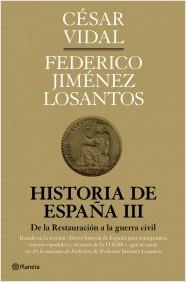 Descargar HISTORIA DE ESPAÑA III  DE LA RESTAURACION A LA GUERRA CIVIL