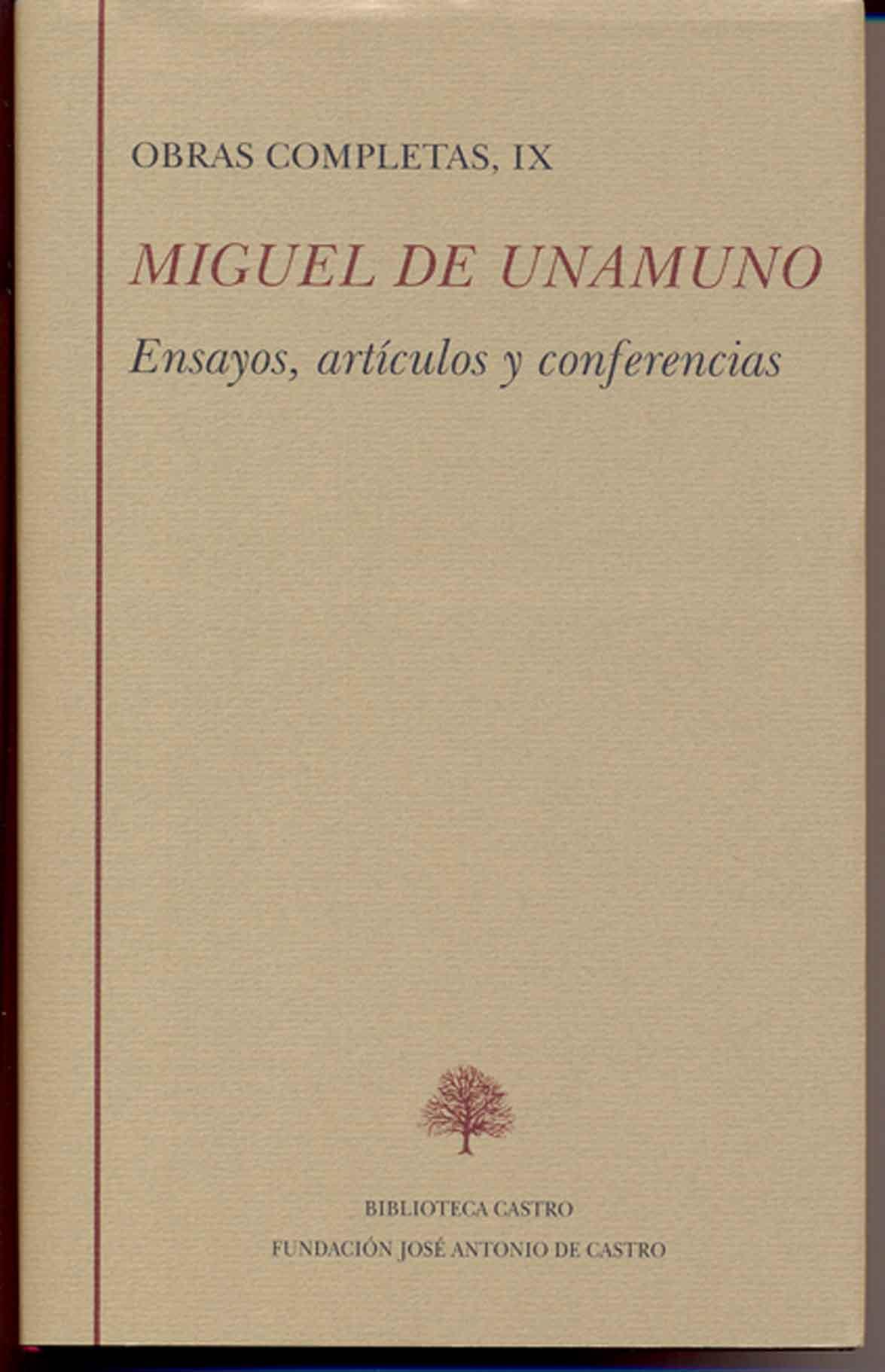 Descargar OBRAS COMPLETAS  TOMO IX: ENSAYOS  ARTICULOS Y CONFERENCIAS