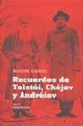 Descargar RECUERDOS DE TOLSTOI  CHEJOV Y ANDREIEV