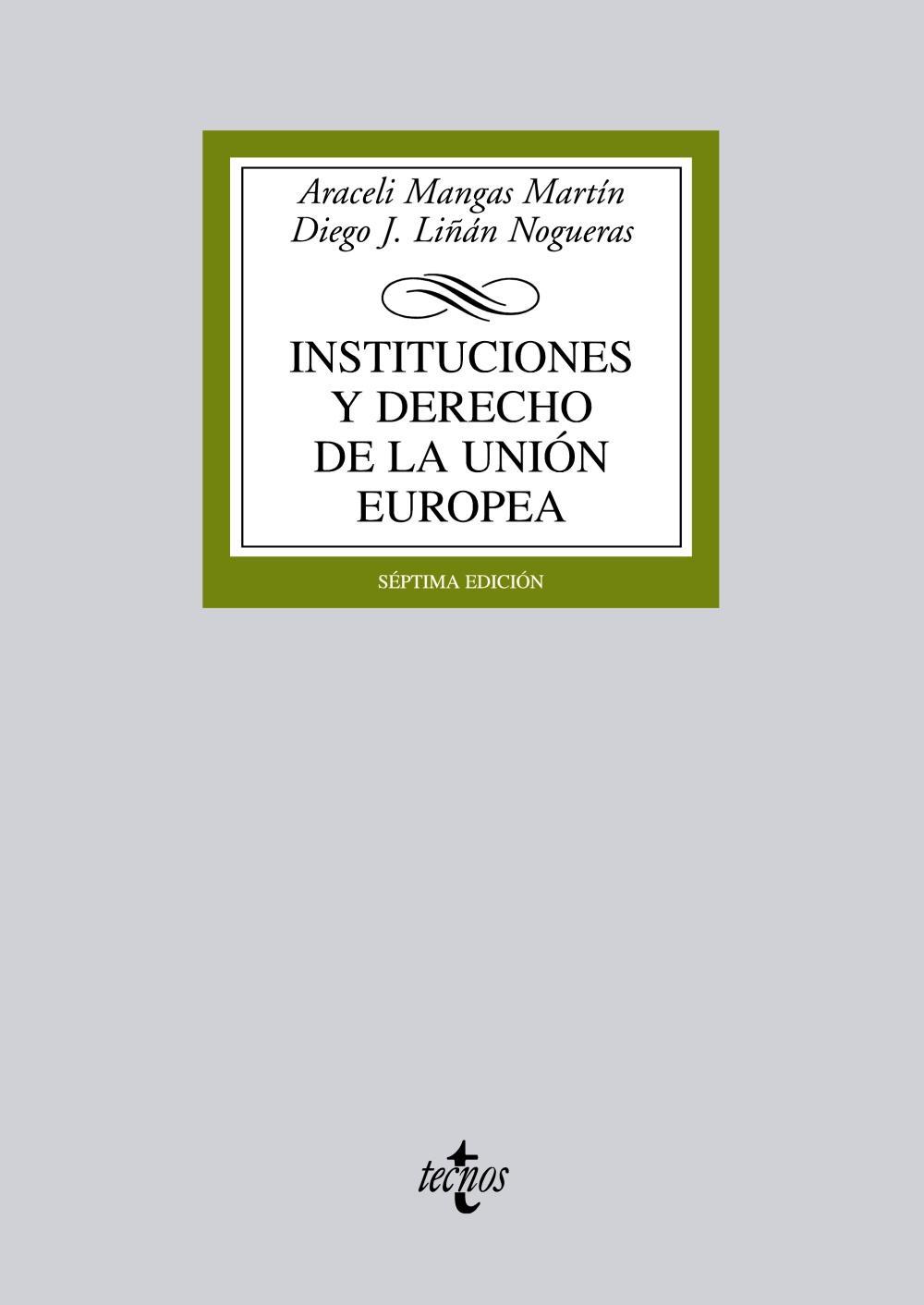 Descargar INSTITUCIONES Y DERECHO DE LA UNION EUROPEA