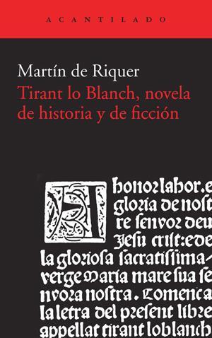 Descargar TIRANT LO BLANCH  NOVELA DE HISTORIA Y DE FICCION