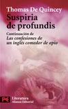 Descargar SUSPIRIA DE PROFUNDIS  CONTINUACION DE LAS CONFESIONES DE UN INGLES COMEDOR DE OPIO
