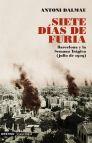 Descargar SIETE DIAS DE FURIA  BARCELONA  LA SEMANA TRAGICA (JULIO 1909)