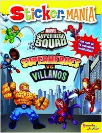 Descargar STICKERMANIA  SUPERHEROES VS  VILLANOS