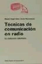 Descargar TECNICAS DE COMUNICACION EN RADIO  LA REALIZACION RADIOFONICA