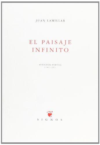 Descargar EL PAISAJE INFINITO  ANTOLOGIA POETICA 1982-1997