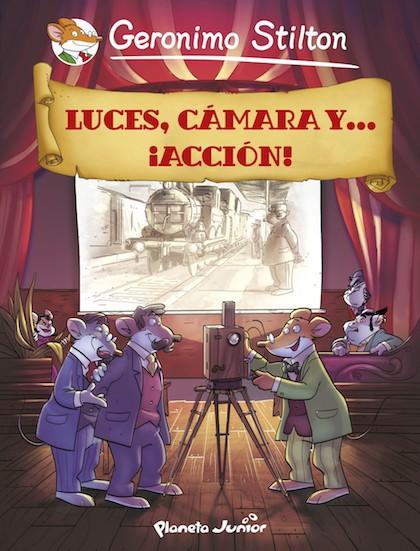 Descargar LUCES  CAMARA Y    ¡ACCION! COMIC GERONIMO STILTON 16