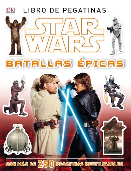 Descargar STAR WARS: BATALLAS EPICAS  LIBRO DE PEGATINAS