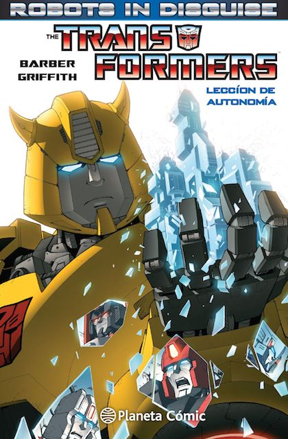 Descargar TRANSFORMERS ROBOTS IN DISGUISE Nº 01
