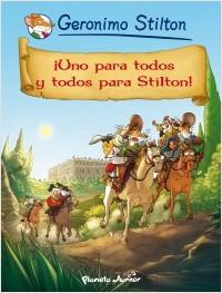 Descargar ¡UNO PARA TODOS Y TODOS PARA STILTON! COMIC GERONIMO STILTON 15