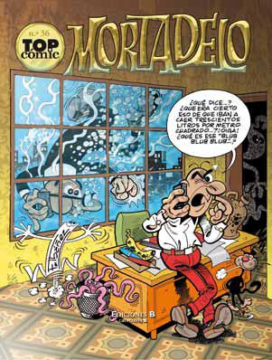 Descargar TOP COMIC MORTADELO N° 36