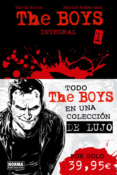 Descargar THE BOYS INTEGRAL VOL 1