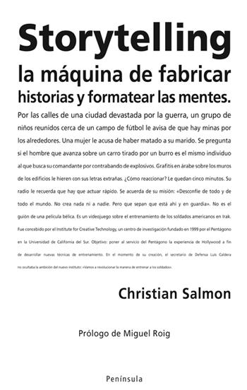 Descargar STORYTELLING  LA MAQUINA DE FABRICAR HISTORIAS Y FORMATEAR LAS MENTES
