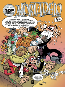 Descargar TOP COMIC MORTADELO Nº 50  ¡ESPIAS!